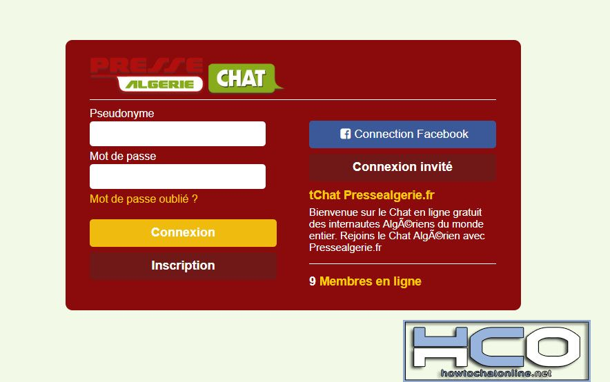 Tchat algerien gratuit sans inscription