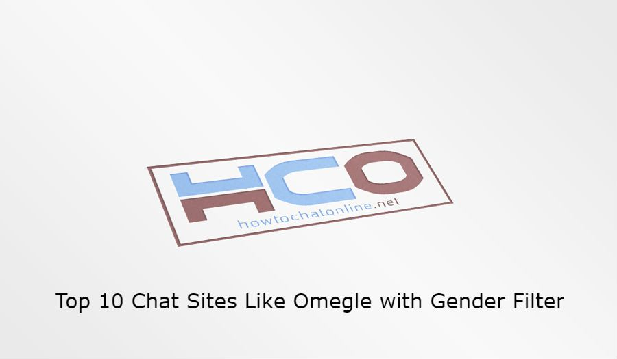 Top 10 Chat Sites Like Omegle with Gender Filter