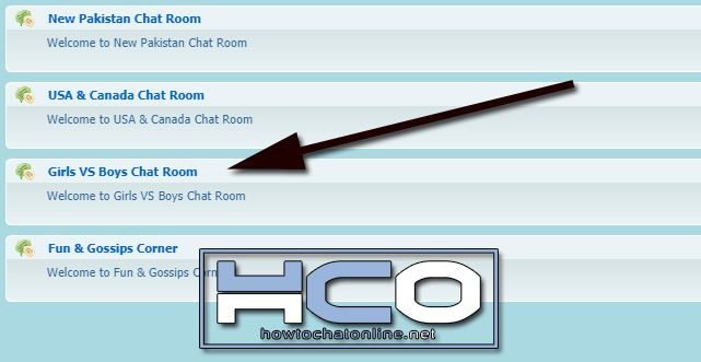 12 All Chat Girls and Guys Chat Room - Use Step 3