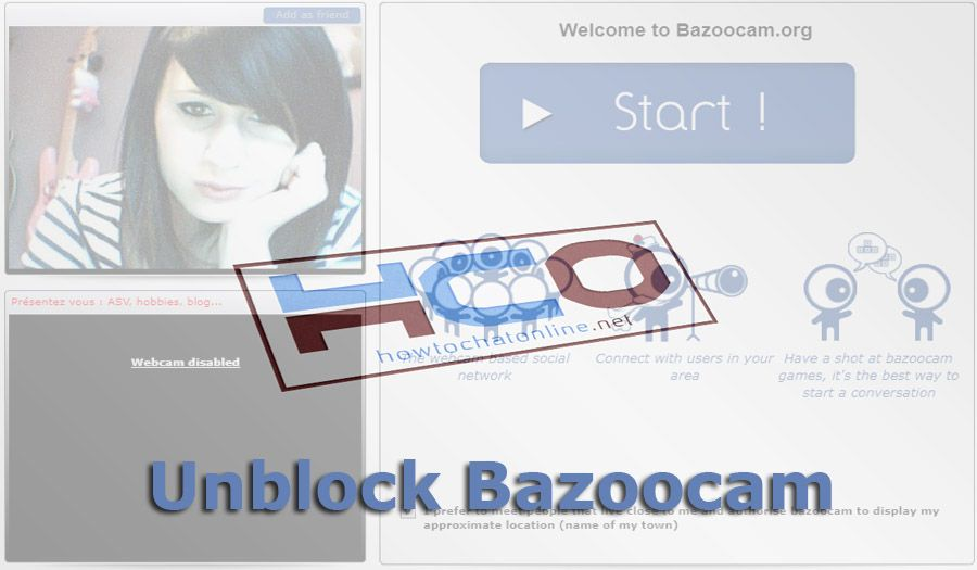 How to Unblock Bazoocam