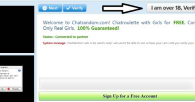 verify age on chatrandom to chat with girls