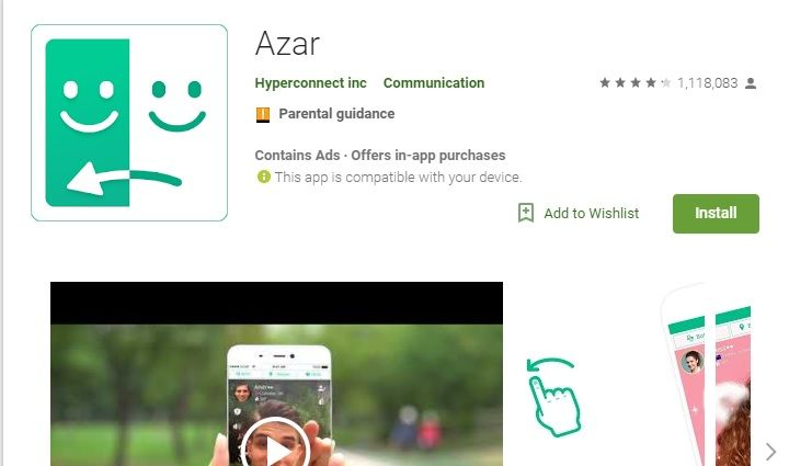 Azar Video Chat for Android