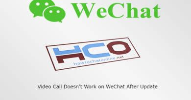 Video Call Doesnt Work on WeChat After Update