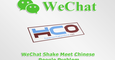 WeChat Shake Meet Chinese People Problem