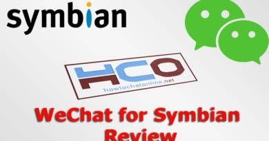 WeChat for Symbian