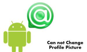 Can not Change Profile Picture on Mail ru Agent App