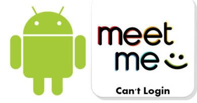 If you can't Login MeetMe on an Android device, you will find a fix and some solutions on this page.