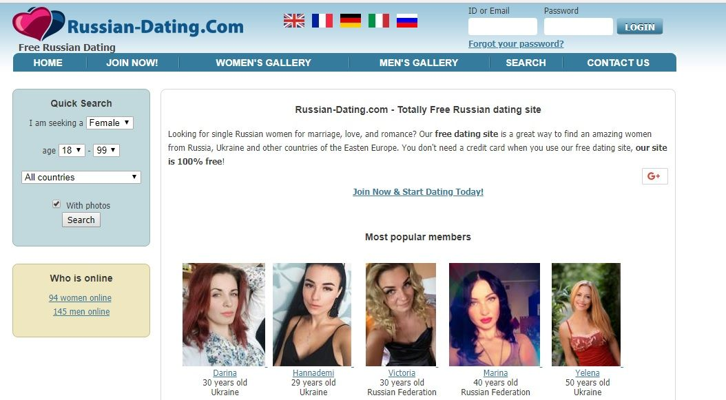 Review of free russian online dating sites