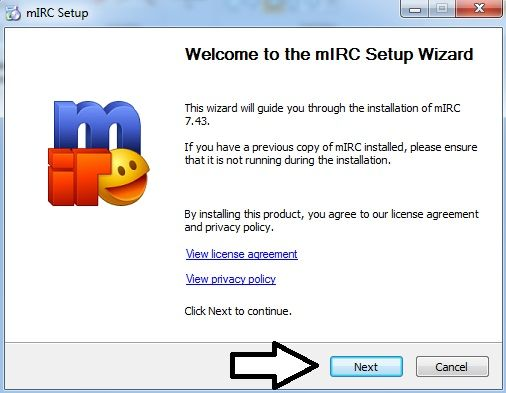 how to install mirc 2