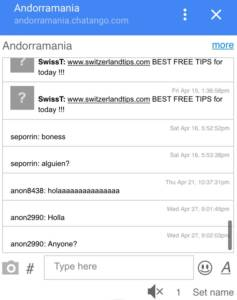 andorra mobile chat