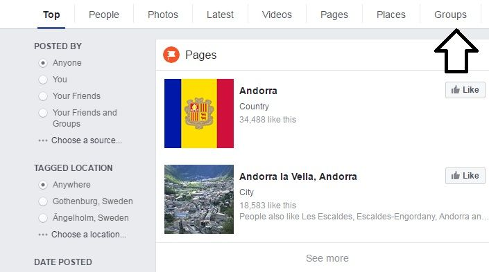 How to Find Andorran Guys on Facebook 2