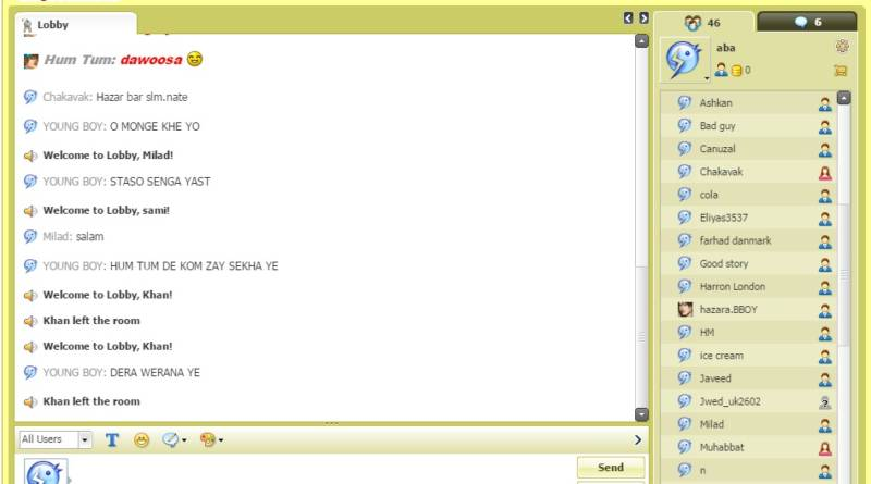 afghanetwork chat