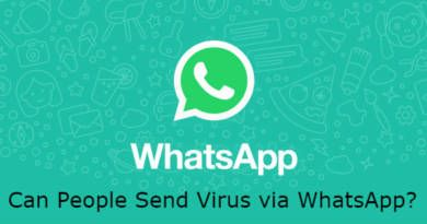 Can People Send Virus via WhatsApp