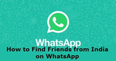 How to Find Friends from India on WhatsApp