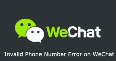 Invalid Phone Number Error on WeChat