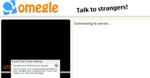Omegle video call chat