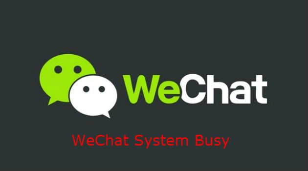 wechat call line busy