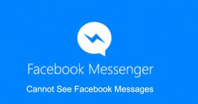 Cannot See Messages on Facebook Messenger Android