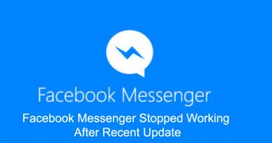 Facebook Messenger Stopped Working After Recent Update