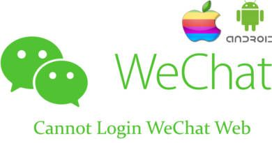 Cannot Login to WeChat Web