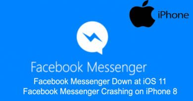 Facebook Messenger Down at iOS 11 Facebook Messenger Crashing on iPhone 8