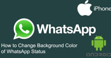 How to Change Background Color of WhatsApp Status