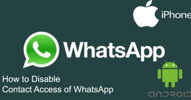 How to Disable Contact Access of WhatsApp