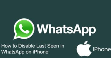 How to Disable Last Seen in WhatsApp on iPhone