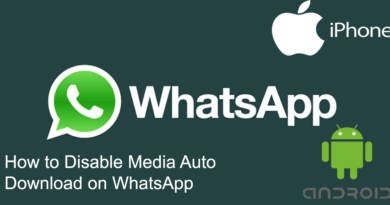 How to Disable Media Auto Download on WhatsApp