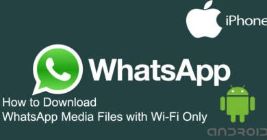 How to Download WhatsApp Media Files with Wi Fi Only