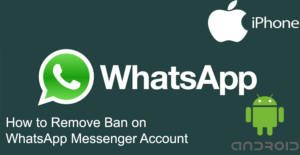 How to Remove Ban on WhatsApp Account | How to Chat Online