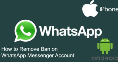 How to Remove Ban on WhatsApp Messenger Account