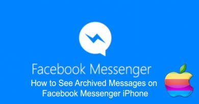 How to See Archived Messages on Facebook Messenger iPhone