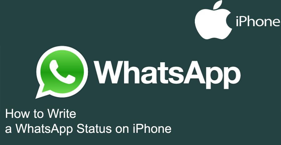 How To Write A Whatsapp Status On Iphone How To Chat Online