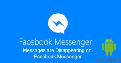Messages are Disappearing on Facebook Messenger