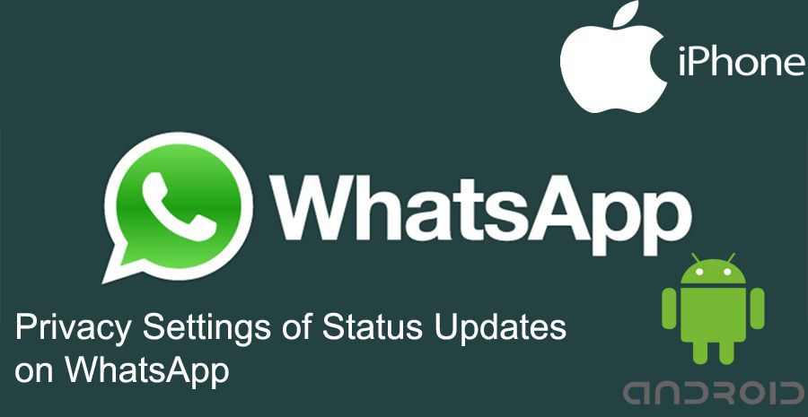 Privacy Settings of Status Updates on WhatsApp | How to Chat