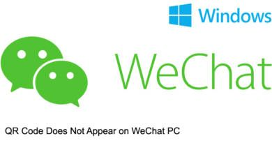 QR Code Does Not Appear on WeChat PC