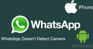 WhatsApp Doesnt Detect Camera