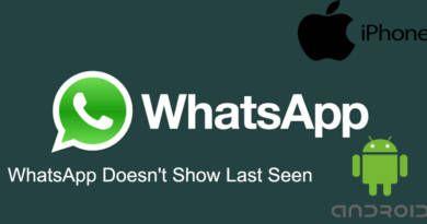 WhatsApp Doesnt Show Last Seen