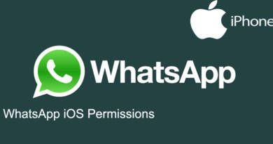 WhatsApp iOS Permissions