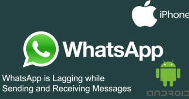 WhatsApp is Lagging while Sending and Receiving Messages