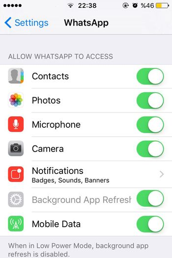 Best Settings for WhatsApp iOS   How to Chat Online
