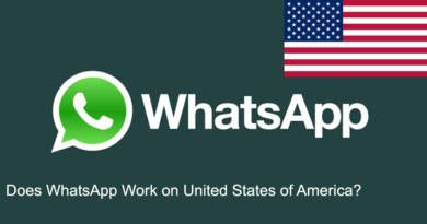 Does WhatsApp Work on United States of America