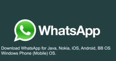 Download WhatsApp for Java Nokia iOS Android BB OS