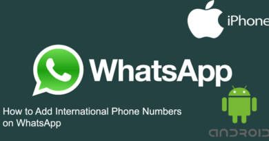 How to Add International Phone Numbers on WhatsApp 3