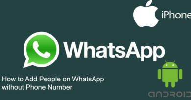 How to Add People on WhatsApp without Phone Number