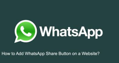 How to Add WhatsApp Share Button on a Website