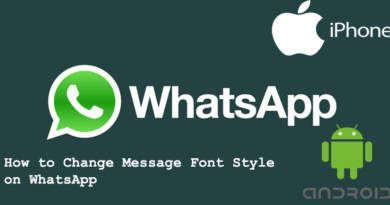 How to Change Message Font Style on WhatsApp