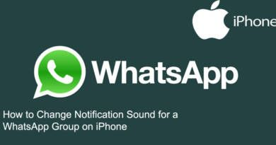 How to Change Notification Sound for a WhatsApp Group on iPhone
