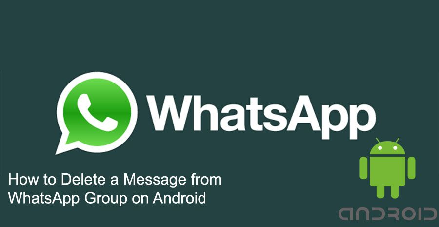 how to send a group message in android